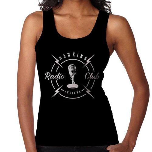 Hawkins Radio Club Indiana Stranger Things Women's Vest