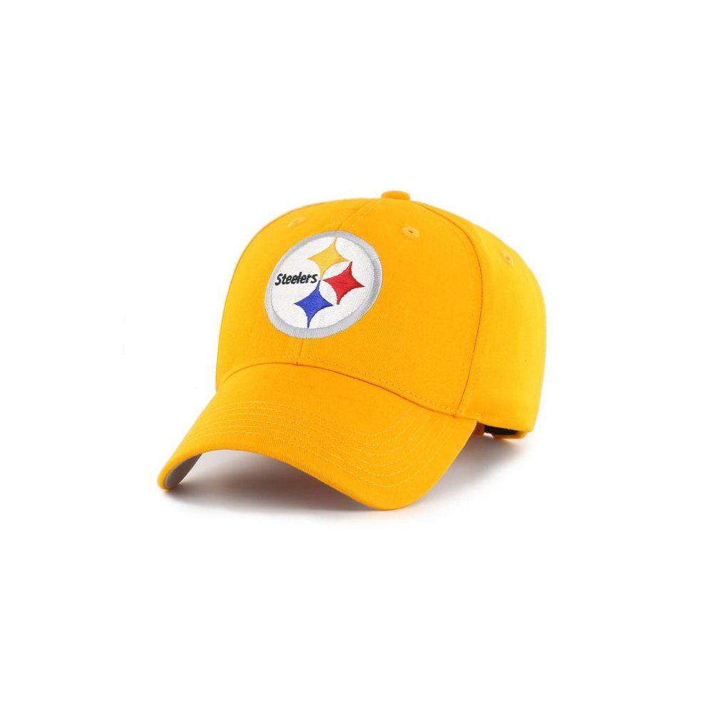 b6d44a12fb0f0f Fan Favorites F-MAC25BCV-GD NFL Pittsburgh Steelers Basic Cap & Hat - One  Size on OnBuy