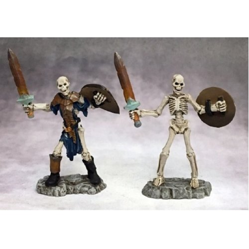 Reaper Miniatures Dark Heaven Legends 03756 Skeletal Swordsman (2)