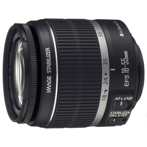 Canon EF-S 18-55mm f/3.5-5.6 IS II SLR Standard zoom lens Black