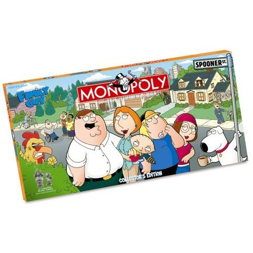 Monopoly Family Guy Collectors Edition Board Game