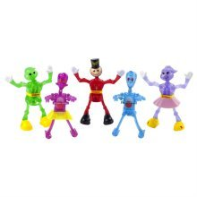 Set of 5 Humanoid Wind-up Toys