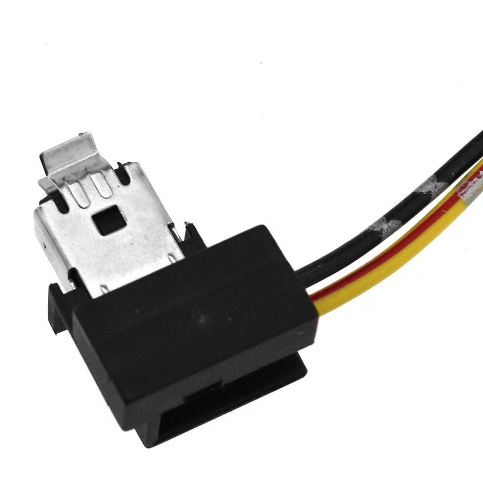 h1 headlight fog lamp bulb replacement socket holder wiring connector  plug - 2
