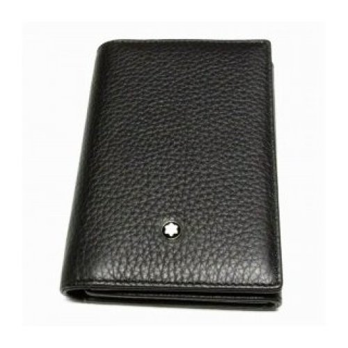 MONTBLANC BUSINESS CARD HOLDERS CREDIT CARDS, TRIPLE-SOFT-GRAIN 113011