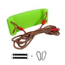 2-in-1 Snug 'n Secure Swing - Holds 331 Lbs Adjustable Hanging Ropes,#G
