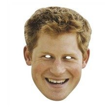 Prince Harry Celebrity Face Mask