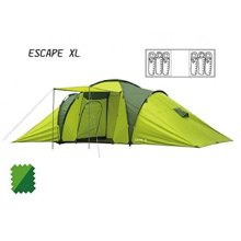 Hydrahalt Excape XL 6 Person Tent 2000hh Green - Summit -  summit hydrahalt 6 person tent escape xl 2000hh dome outdoor family camping festival