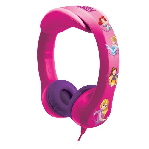 Lexibook HP018DP Disney Princess Flexible and Unbreakable Children's Headphone