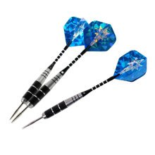 Set of 3 Nickel Plating Tip Darts with Stainless Steel Barrel (22 Grams)