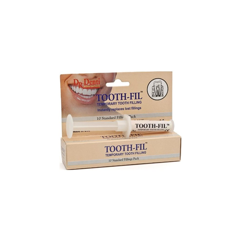 Dr Denti Tooth Fil Temporary Tooth Filling - 3 Toothfill -  Dr Denti Tooth Temporary Filling 3 Toothfill