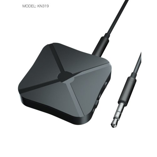 Bluetooth Receiver / Audio Adapter, Make Home/Car Stereo Wireless.