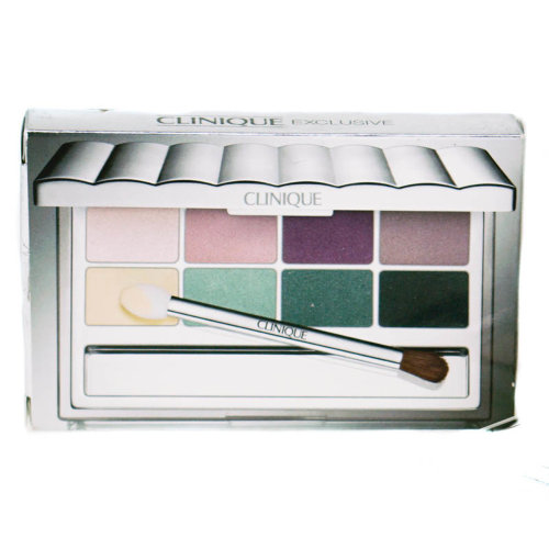 Clinique Pink Green Eyeshadow Palette All About Shadow