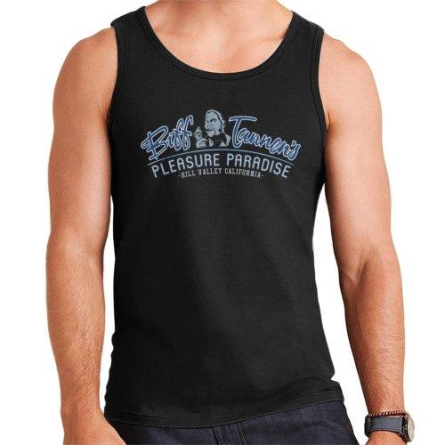 Back To The Future Biff Tannens Pleasure Paradise Men's Vest