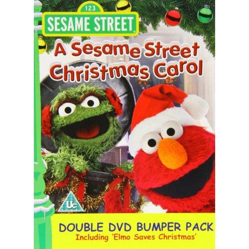 Elmo Saves Christmas.Sesame Street Christmas Carol Elmo Saves Christmas Double