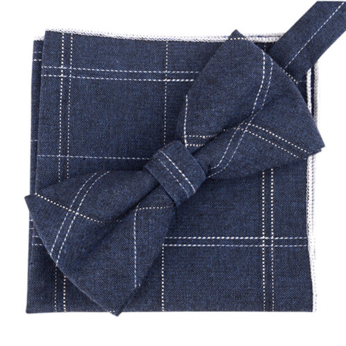 Fashion Casual Bow Tie Pocket Square Business Necktie Pocket Cloth NO.02