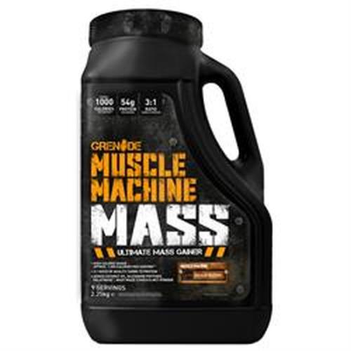 Grenade Muscle Machine Mass 2250g Chocolate Milkshake - Ultimate Mass Gai