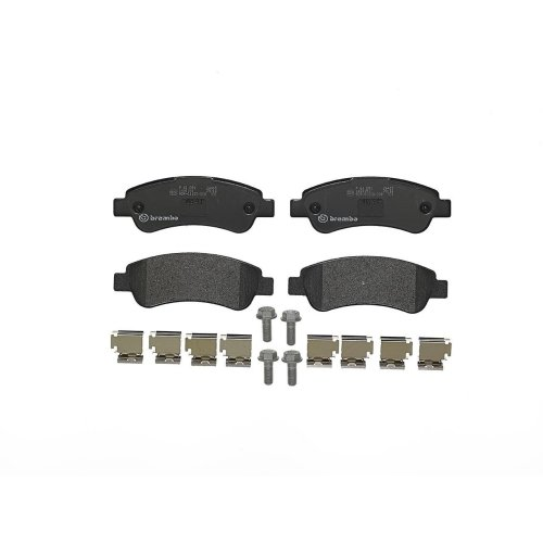 Brembo P61091 Rear Disc Brake Pad - Set of 4
