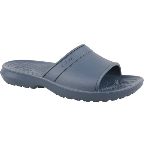 Crocs Classic Slide Kids 204981-410 Kids Navy Blue slides Size: 11 UK