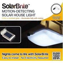 Wireless 16 LED Solar Powered Motion Sensor Light (Weatherproof, No Batteries Required)