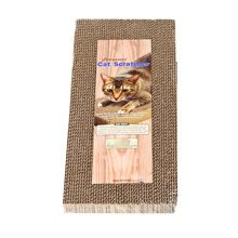 [Honeycomb] Pet Toy--Corrugated Paper Cat Scratching Pad/Board (49.5*22.5*4cm)