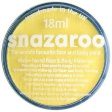 Snazaroo 18ml Face Paint - Pale Yellow - Colours Fancy Dress Body Paints -  18ml snazaroo face paint colours fancy dress body paints classic make up