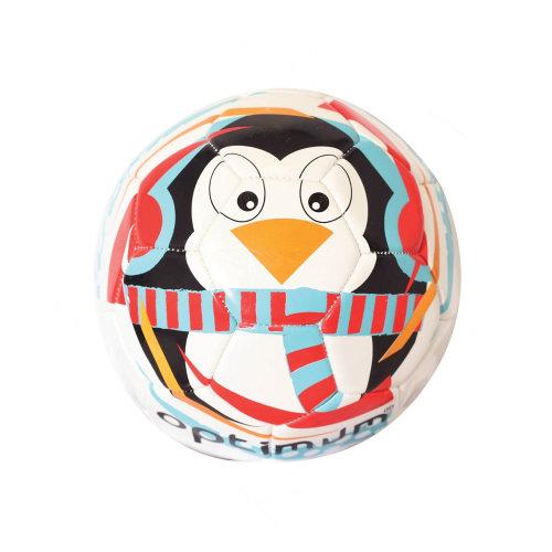 Optimum Christmas Penguin Mini Festive Football Soccer Ball White