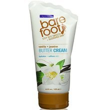 Bare Foot Cream, Vanilla + Jasmine Butter, 4.2 Fluid Ounce