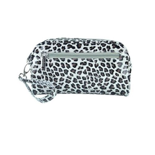 Picnic Gift 7624-CT Margarita-Insulated Cosmetics Bags with Removable Wristlet, Cheetah