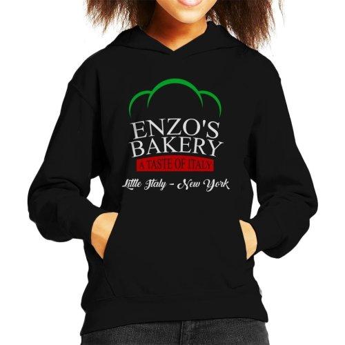 Enzos Bakery Little Italy The Godfather Kid's Hooded Sweatshirt