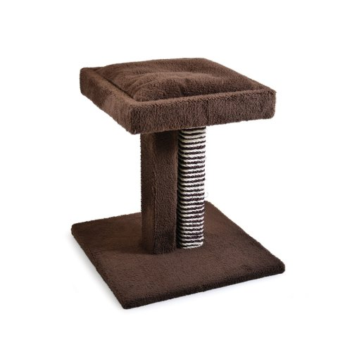Ancol Pet Products Acticat Duette Scratch Post And Cushioned Platform