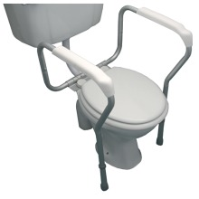 Toilet Rail Surround Safety Frame Adjustable Width And Height