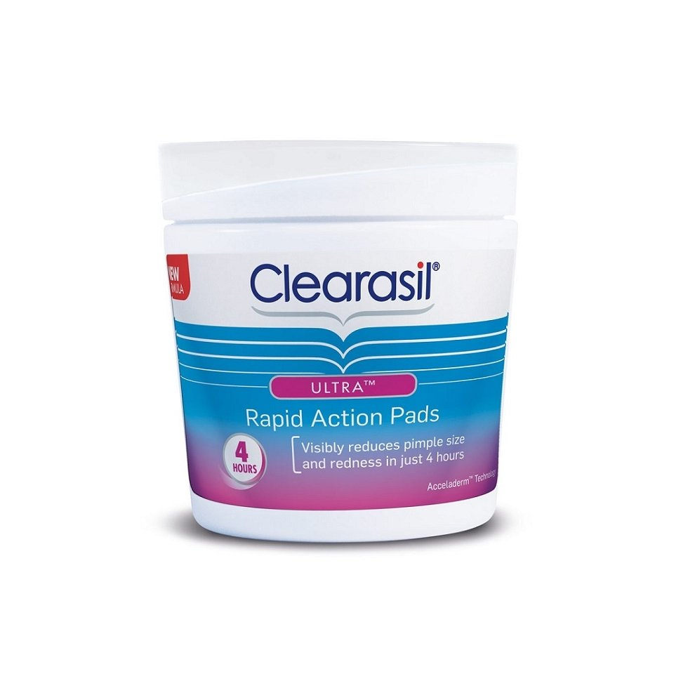 Clearasil Ultra Rapid Action Pads X 65