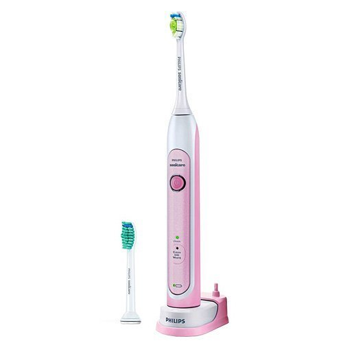 Philips Sonicare HX6762 Pink Healthy White Toothbrush