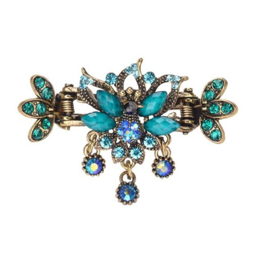 Chinese Design Hair Claws/Clips Vintage Hair Barrettes, Peacock Clips, A