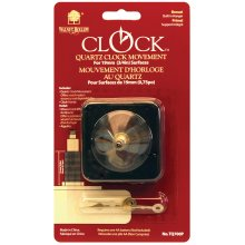 "Quartz Clock Movement-For .75"" Surfaces"