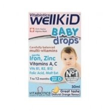 Vitabiotics - Wellbaby Drops 30ml