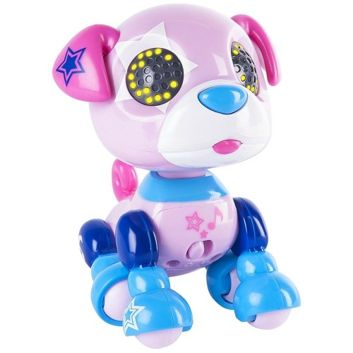 Zoomer Zupps Zuppstar Interactive Robotic Dog Pet with Sensors Kids Toys