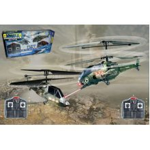 2 x BATTLE REMOTE CONTROL HELICOPTER  MINI RC CONTROLLED 2 PLAYER XMAS PRESENT