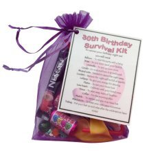 30th Birthday Survival Kit - An excellent alternative to a card