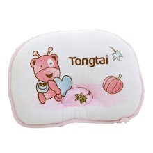 Cute and Soft Anti-roll Pillow Prevent Flat Head For 0-1 Years Ant Pattern Pink