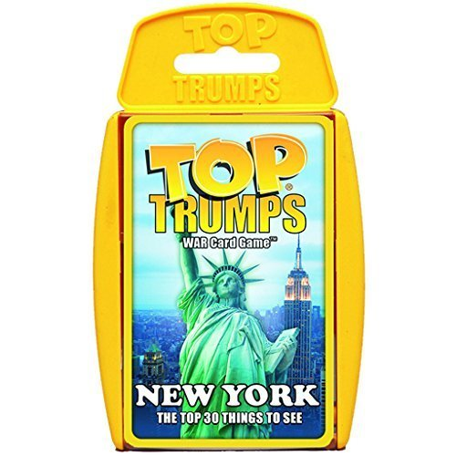 Top Trumps New York Card Game