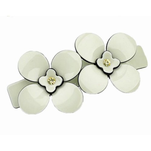High Quality Plum Flower Hairpin Girl's Elegant Hair Barrette/Clip, D