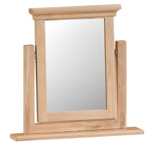 New Sherwood Oak Vanity Mirror