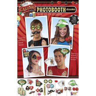 Bristol Novelty Casino Photo Booth Kit (18 Pieces)
