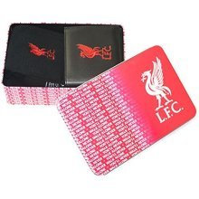 Liverpool Football Club - L.f.c. Supporters Wallet And Socks Tin - Team -  football team official supporters wallet socks tin gift set mens xmas