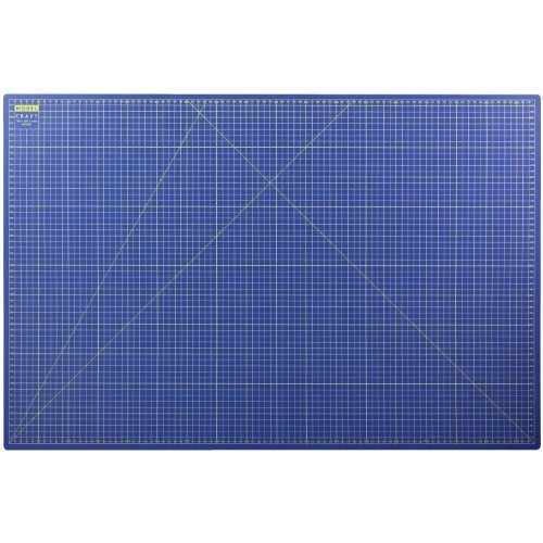 Modelcraft A1 Self-heal Cutting Mat, Blue -