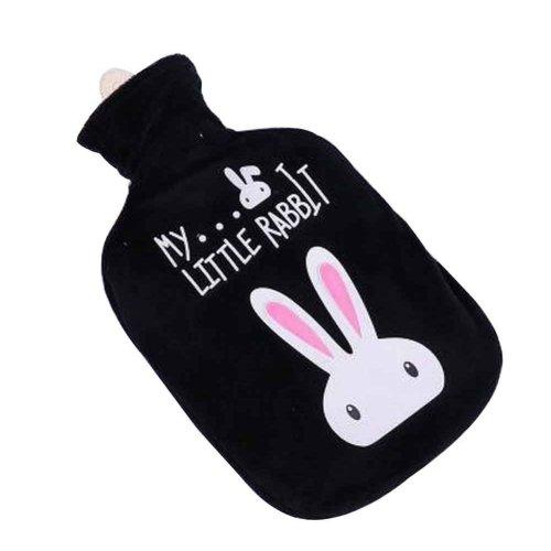 Cute and Comfortable Cartoon Warm Water Bag, Portable, 700ML [F]
