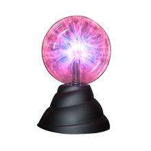 "8"" 360 Degree Plasma Ball Lamp -  funtime plasma ball 8 360 degree light sphere reacts touch"