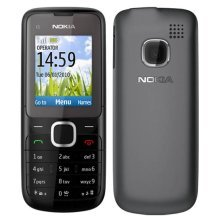 Nokia C1-01 Unlocked Mobile Phone - Grey