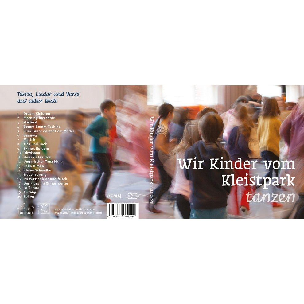 Wir Kinder vom Kleistpark tanzen. CD 05  Tänze 2728b0757865b